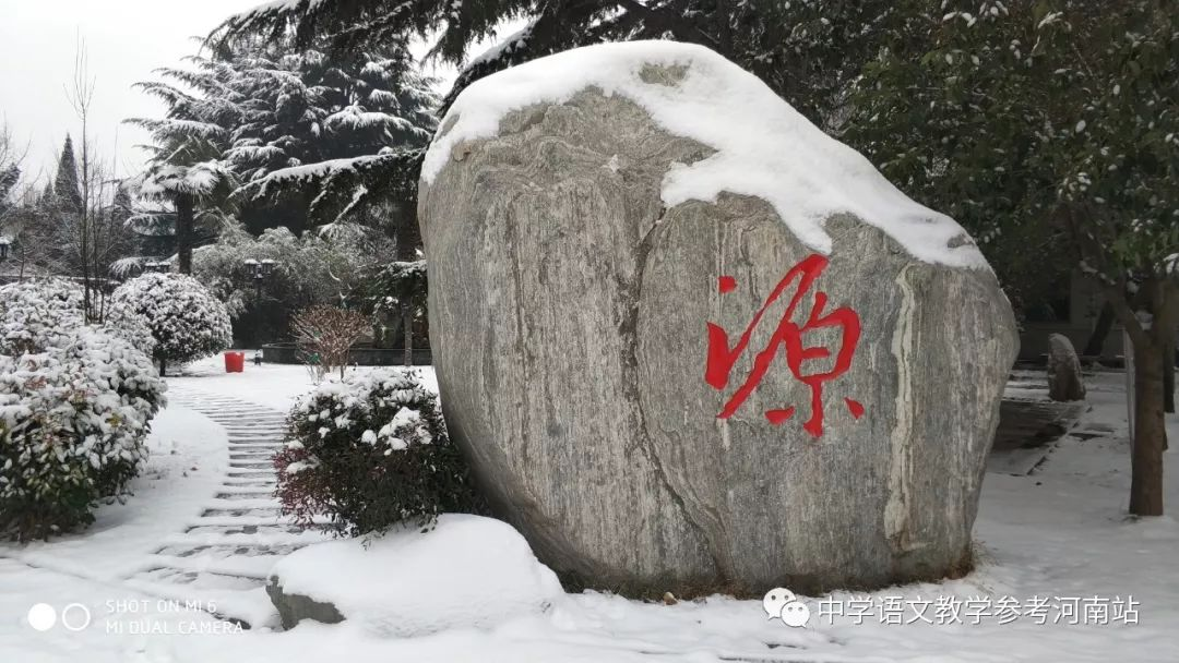 学校里的石头