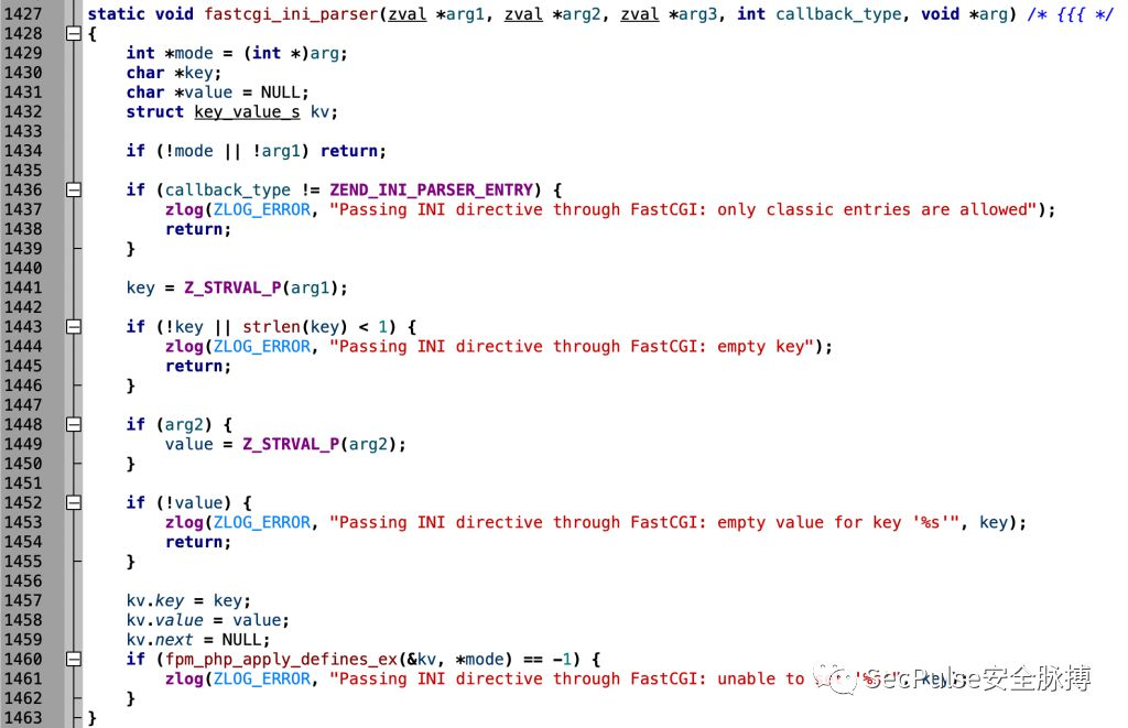 PHP内核分析FPM和disable_function安全问题