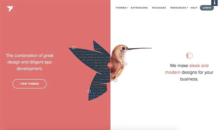 网页设计分屏布局