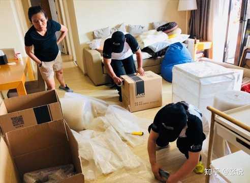 大家体验过日式搬家么?